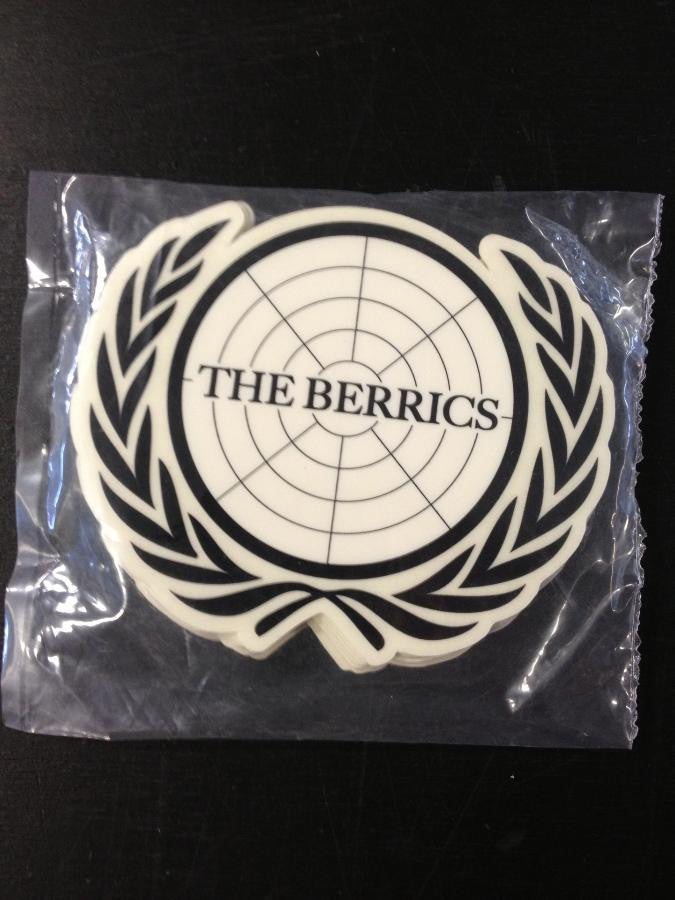 "Berrics Stickers ""UN logo 2"" 25-pack"