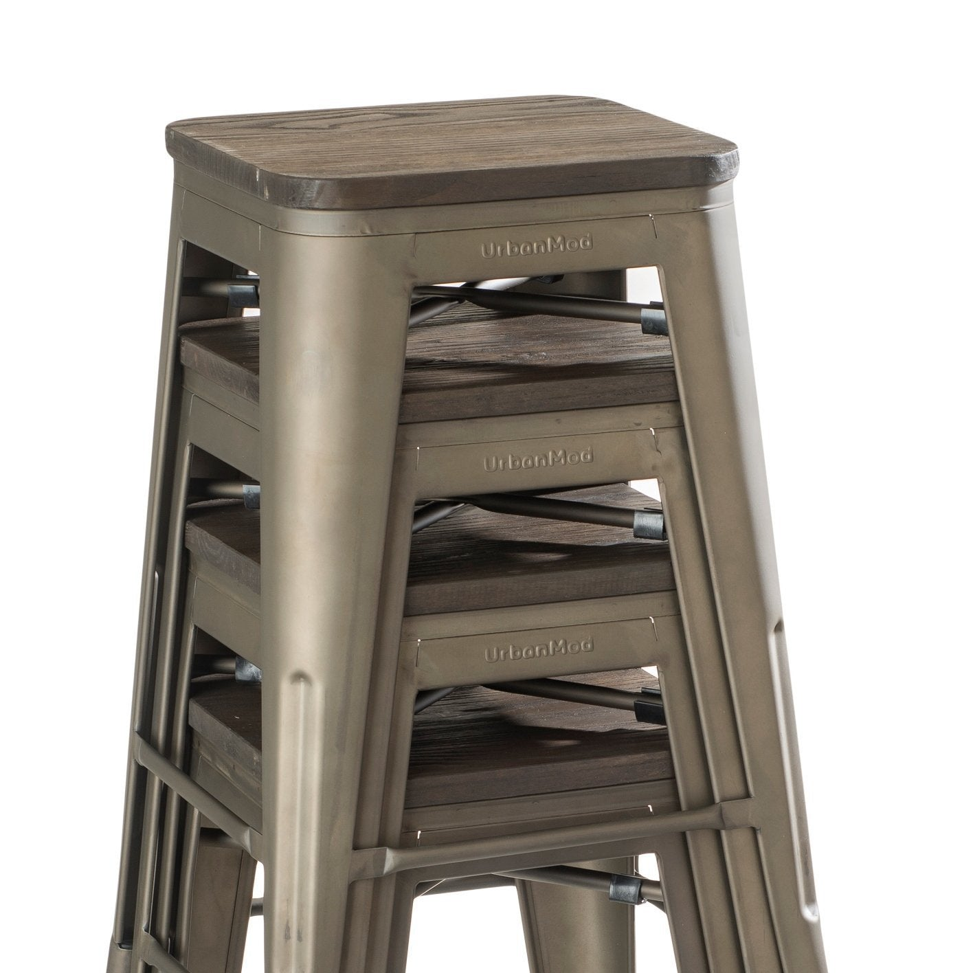Terrific 24Quot Counter Height Bar Stools Rustic Gunmetal And Ncnpc Chair Design For Home Ncnpcorg