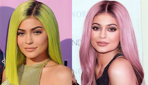 Colorful Hair Kylie Jenner