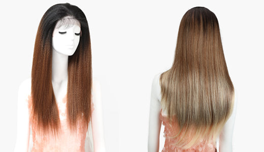 Synthetic Wig Hair Extension
