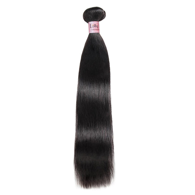 Lolly Hair 1Pc Virgin Straight Human Hair Weave Bundles Sample Order