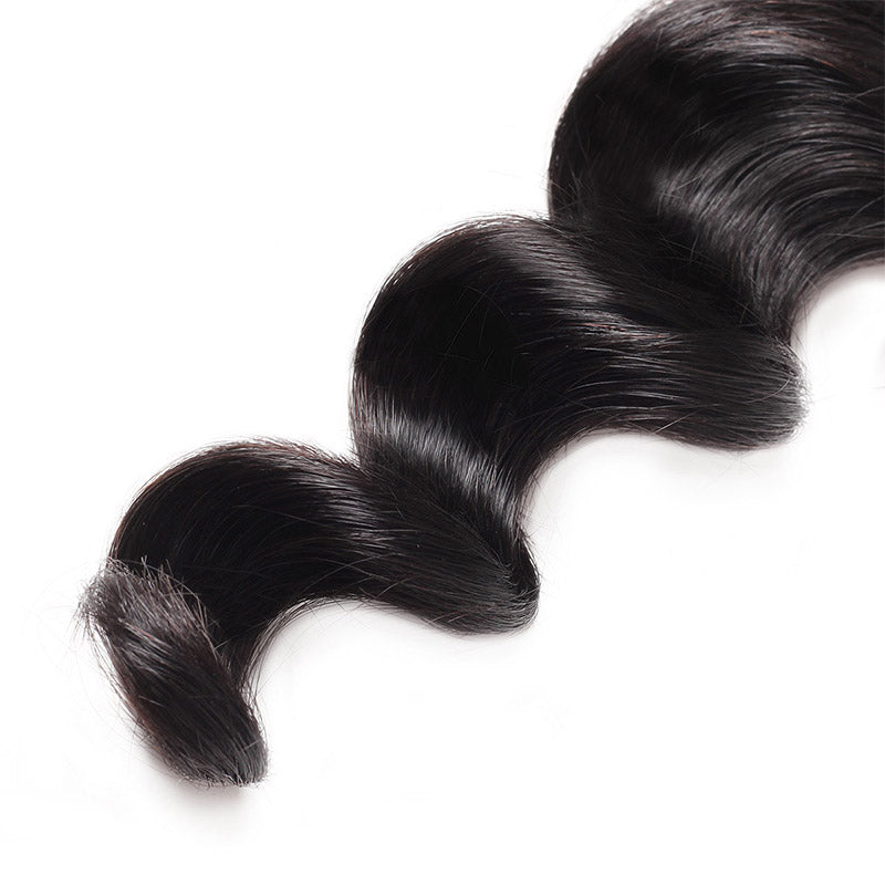 Lolly Loose Deep Wave Virgin Hair Weave 1Pc 9A Unprocessed Human Hair