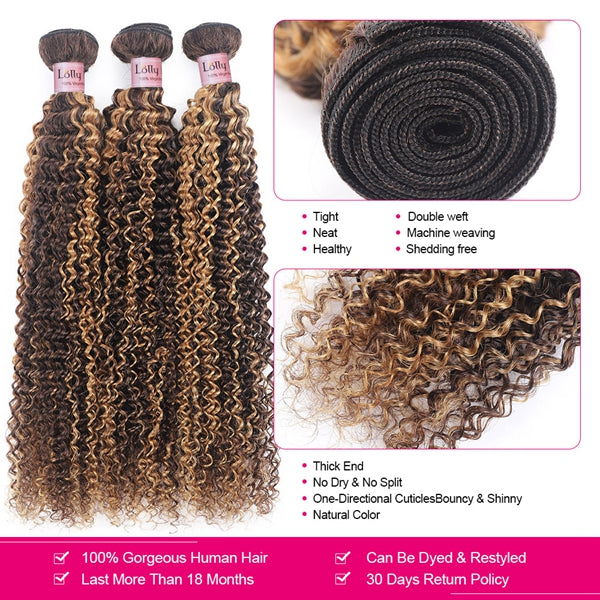 Lolly Hair T1B/PURPLE Ombre Body Wave Virgin Human Peruvian Hair Extensions 3 Bundles With 4x4 Lace Closure : LOLLYHAIR
