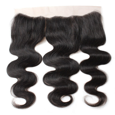 LollyHair 9A Brazilian Virgin Hair Good Brazilian Body Wave Remy Hair 13x4 Ear To Ear Lace Frontal Closure : LOLLYHAIR