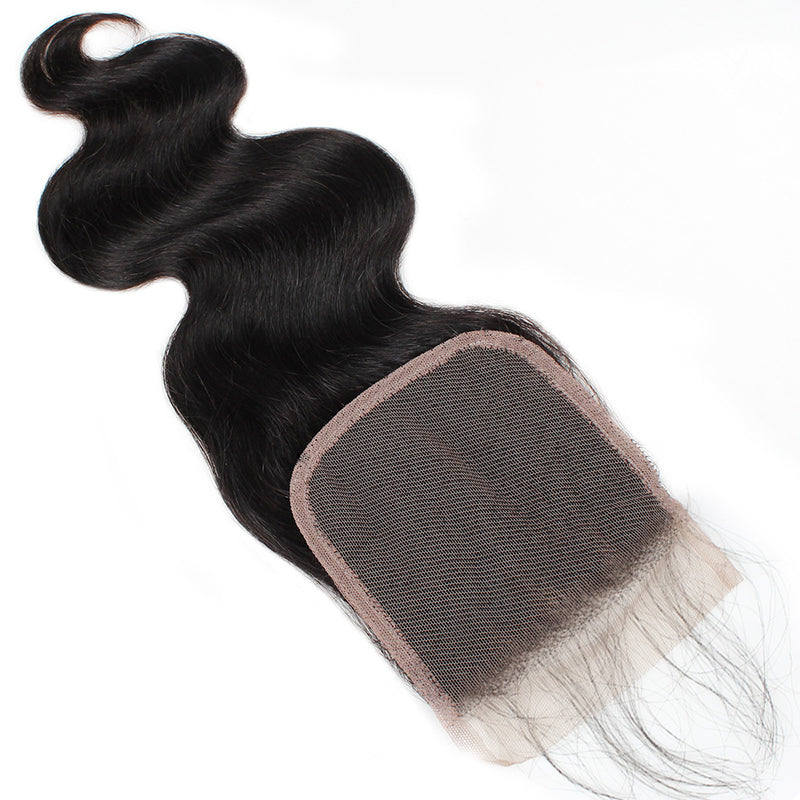 Lolly Hair Best Online Brazilian Virgin Human Hair Natural 100% REal Human Hair Body Wave 4 Bundles With Lace Closure With Baby Hair  Shipping Worldwdide : LOLLYHAIR