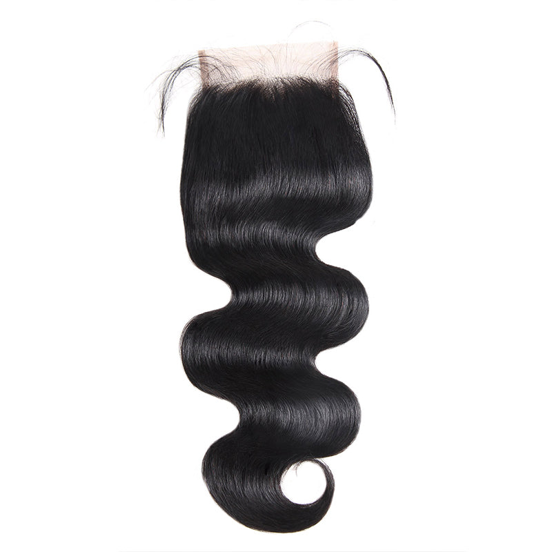Lolly Virgin Malaysian Body Wave Hair  Bundles Weaves With Lace Closure 9A : LOLLYHAIR