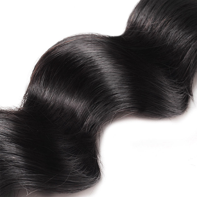 Lolly Hair Loose Deep Wave Virgin Hair Weave 1Pc 9A Human Hair 100% Natural Virgin Human Hair Bundle : LOLLYHAIR