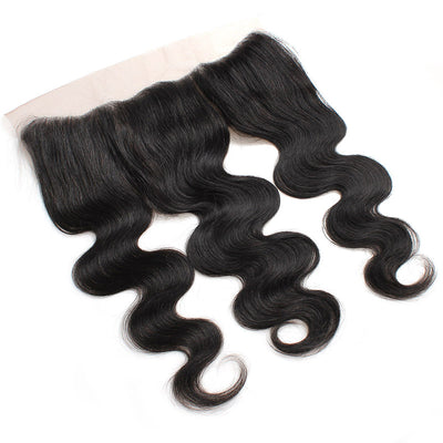 LollyHair Peruvian Unprocessed Virgin Human Hair Best Peruvian Hair 13x4 Frontal Body Wave Lace Frontal : LOLLYHAIR