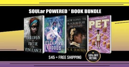 SOULar Powered Book Bundle (Paperback and Hardcover)