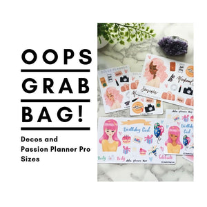 Oops Grab Bag Stickers
