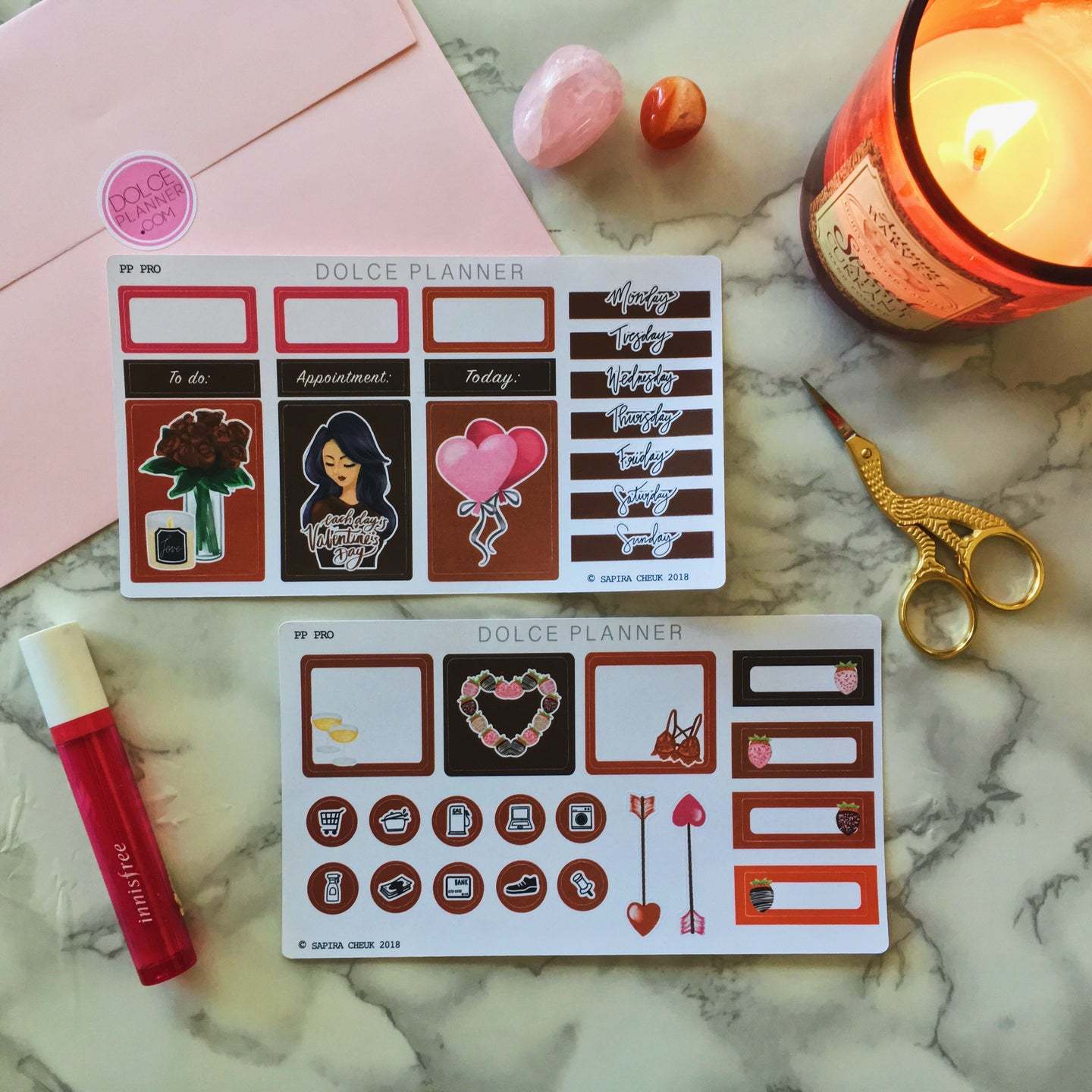 Valentine's Day Girl Mini Kit