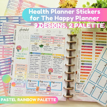 Health Planner Stickers for Happy Planner and Erin Condren