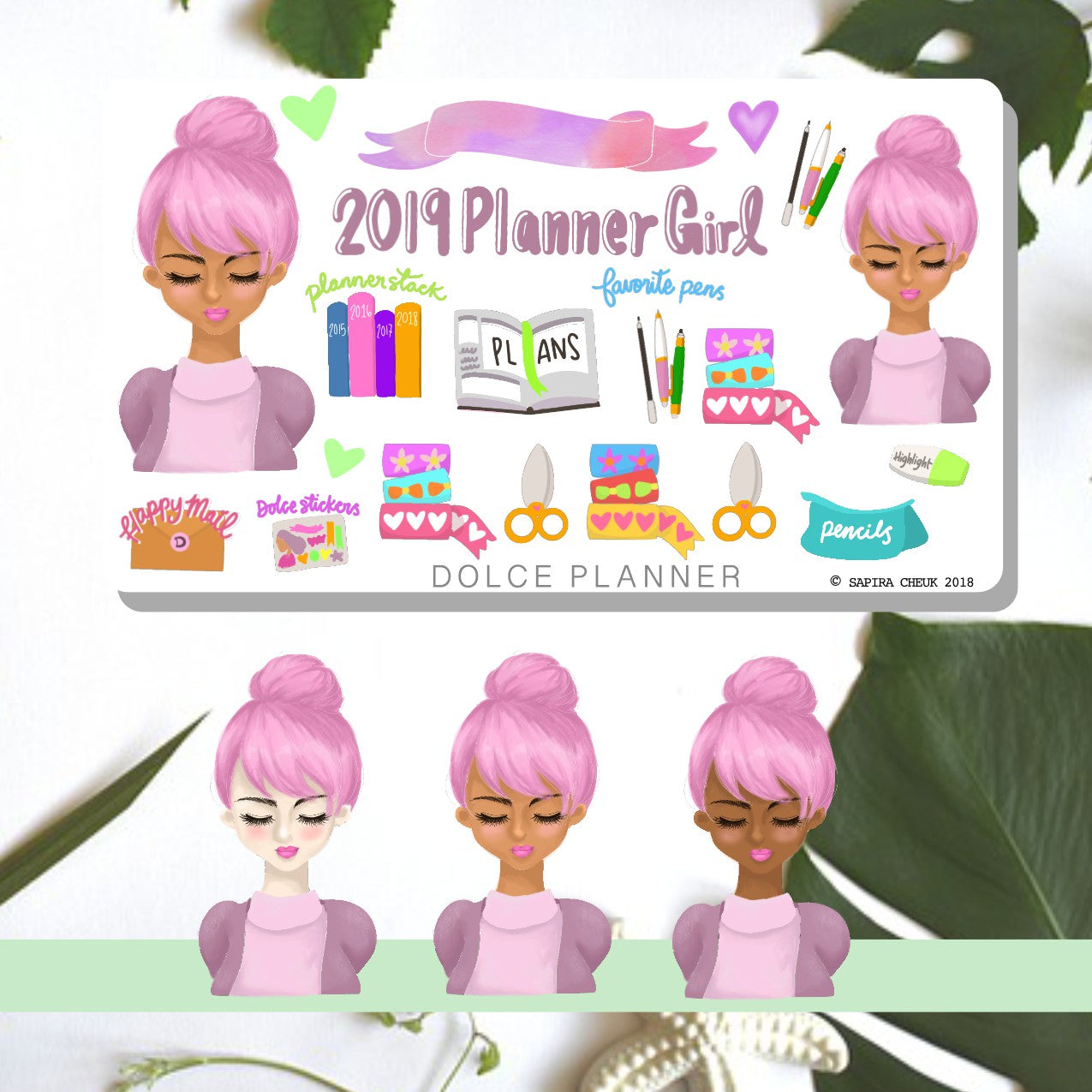 2019 Planner Girl Planner Sticker and Mini Kits