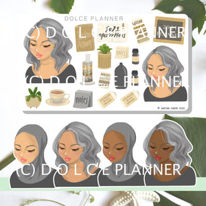 2021 Planner, Planner and Journal Stickers and Mini Kit