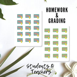Student and Teachers Decorative Stickers