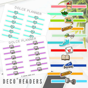 Deco Headers