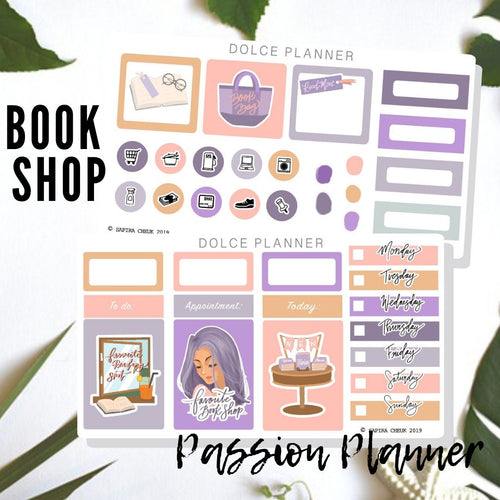 Favorite Book Shop Mini Kit