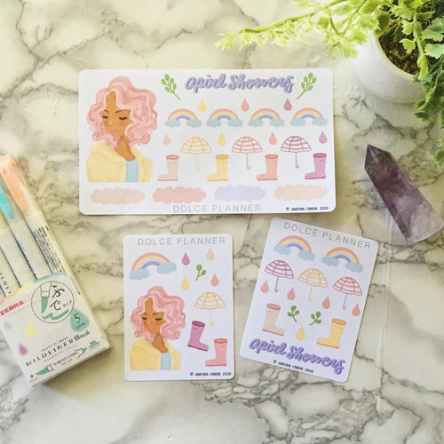 April Showers Planner Sticker