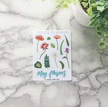 May Flowers Planner Sticker