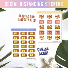 Social Distancing Planner Stickers