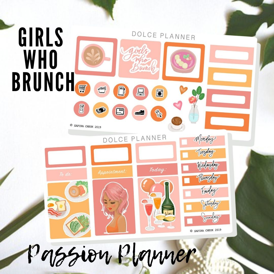 Girls Who Brunch Mini Kit