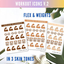 Workout, Fitness Icons V.2