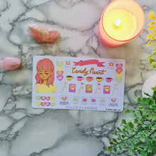 Candy Hearts Planner Sticker