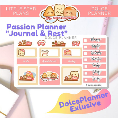 Passion Planner Micro Kit Collab with Little Star Plans