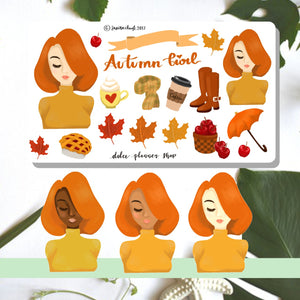 Autumn Planner Sticker