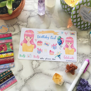 Birthday Party Planner Sticker