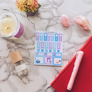 Book Lover Hobonichi Weeks Mini Kit Planner Stickers