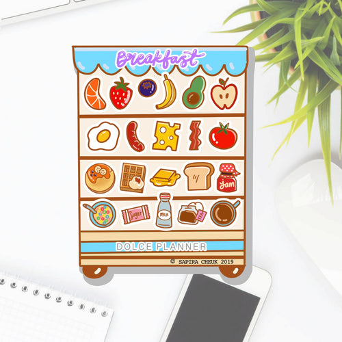Breakfast Cafe Planner Sticker