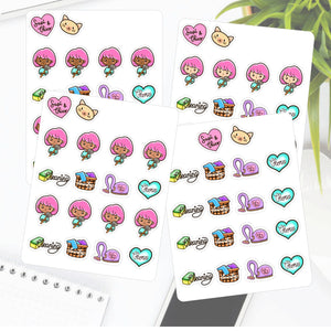 Chores and Cleaning Sapi Planner Stickers