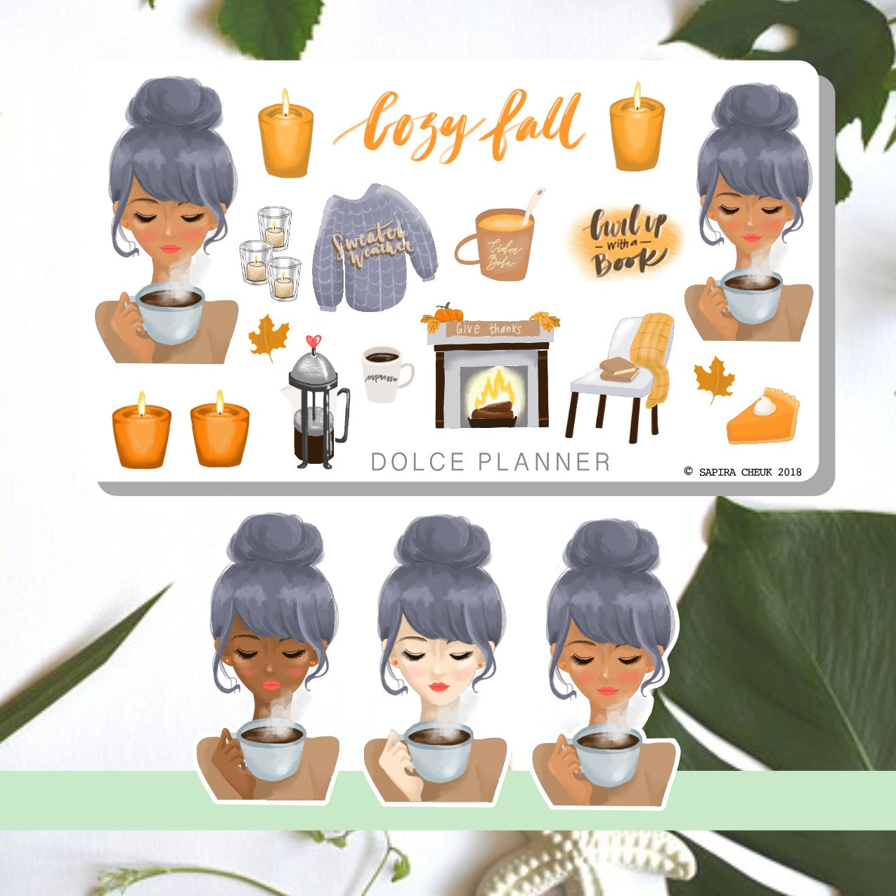 Cozy Fall Planner Sticker