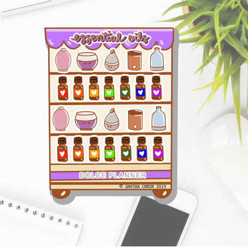 Essential Oil Store Planner Sticker