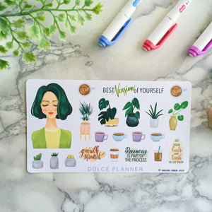 Best Version of Myself Planner Sticker