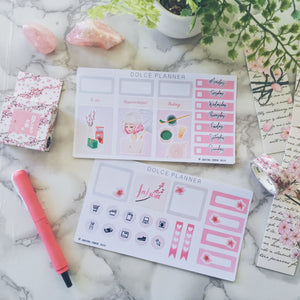 Sakura Cherry Blossom Planner Girl Mini Kit