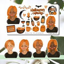 Halloween Movie Marathon Planner Stickers and Mini Kits
