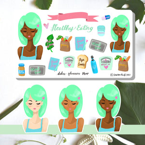 Healthy Eating Planner Sticker