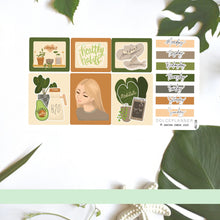 Healthy Habit Planner Stickers and Mini Kit