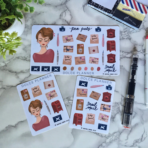 Snail Mail/Pen Pals Planner Sticker