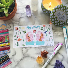 May Flower, Spring Planner Sticker and Mini Kits