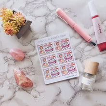 Planning Flatlays Decorative Planner Stickers