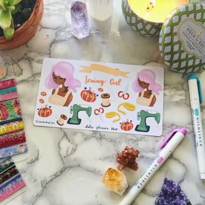 Sewing Planner Sticker