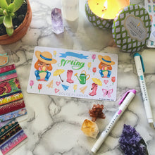 Spring Tulip Planner Sticker and Mini Kits