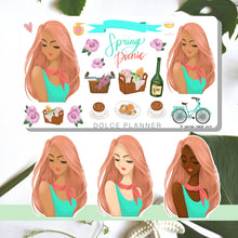 Spring Picnic Planner Sticker and Mini Kits