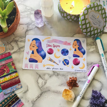 Star Gazer, Galaxy Planner Sticker and Mini Kits