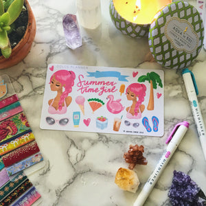 Summertime Planner Sticker and Mini Kits
