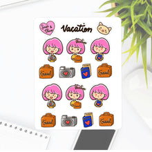 Travel Trip Vacation Sapi Planner Stickers