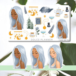 Winter's Tale, Holidays Planner Sticker and Mini Kits